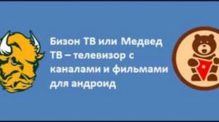 Бизон ТВ или Медвед ТВ – телевизор с каналами и фильмами для андроид
